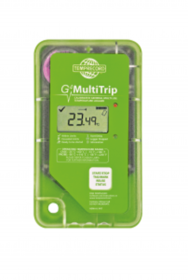Picture of G4 MULTITRIP Green Bent S/S Probe, 8k, 1m Cable