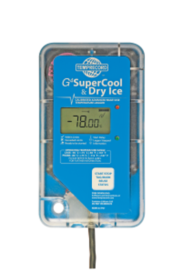 Picture of G4 SUPERCOOL & DRY ICE Straight S/S 1m Cable Probe, 8k