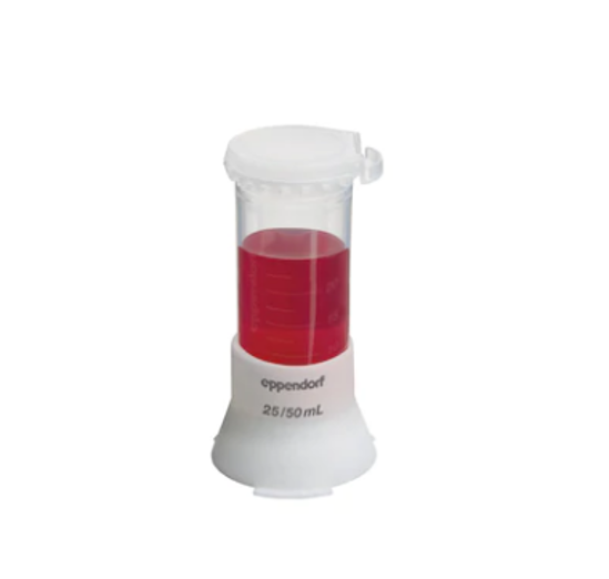 Picture of Single Tube Stand for Conical Tubes 25 mL and 50 mL, 4 pcs., white, autoclavable