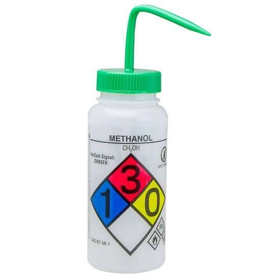 Picture of BOTTLE WASH METHANOL LABEL 500ML