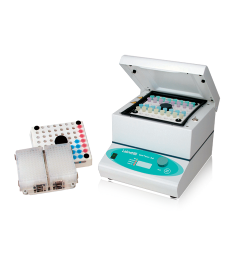 Picture of Labnet VorTemp 56 Shaking Incubator for microtubes and microplates, 230V