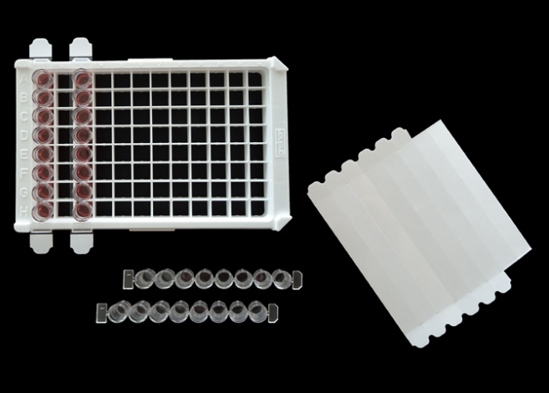 Picture of General Purpose Non-Sterile FilmStrips designed to be used with strip-well plates / 400PK