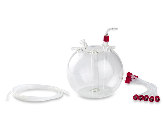 Picture of Central Collection Flask Set, 5 Port 2.5L