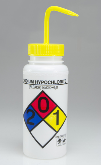 Picture of BOTTLE WASH BLEACH LABEL 500ML