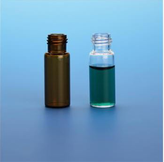 Picture of 1.3mL Glass Full Recovery  R.A.M. 9mm Screw Thread Vial / PK 100