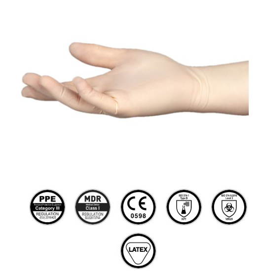 Picture of Gloves ecoSHIELD™ Eco Latex Powder Free