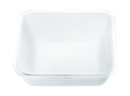 Picture of Weigh tray, 5 ml, (LxW): 35 x 35 mm, PVC, white / PK 200